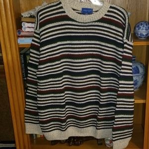 💥50% OFF SALE Town Craft Striped Sweater